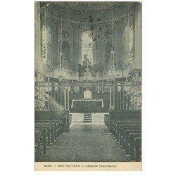 carte postale ancienne 81 ALBI. Bon-Sauveur. La Chapelle 1915