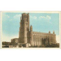 carte postale ancienne 81 ALBI. Cathédrale Sainte-Cécile. A.P.A