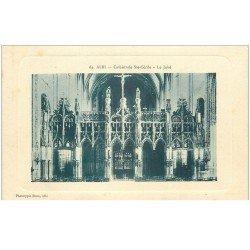 carte postale ancienne 81 ALBI. Cathédrale Sainte-Cécile. Le Jubé
