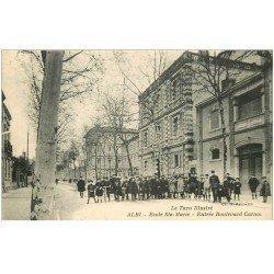 carte postale ancienne 81 ALBI. Ecole Sainte-Marie Boulevard Carnot