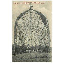 carte postale ancienne 81 ALBI. Hangar du Dirigeable à son Port d'attache. Aviation 1913 Zeppelin et Ballons