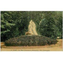 carte postale ancienne 81 ALBI. Parc Rochegude. La Muse Consolatrice par Pendariès
