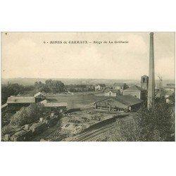 carte postale ancienne 81 CARMAUX. Mines et Siège de la Grillatié