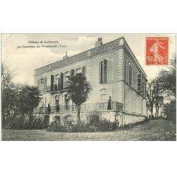 carte postale ancienne 81 CASTELNAU-DE-MONTMIRAIL. Château de Ladurentie animation