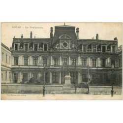 carte postale ancienne 01 BOURG. La Préfecture 1916. Ed Ravier