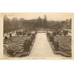 carte postale ancienne 81 CASTRES. Le Jardin de l'Evêché par Le Nôtre