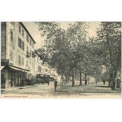 carte postale ancienne 81 CASTRES. Les Allées du Mail Hôtel Restaurant