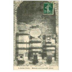 carte postale ancienne 81 CORDES. Mesures anciennes 1907