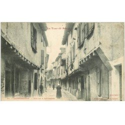 carte postale ancienne 81 LABRUGUIERE. Rue du 4 Septembre