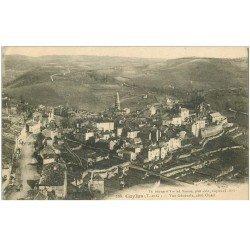 carte postale ancienne 82 CAYLUS. Vue sur la Ville 1917