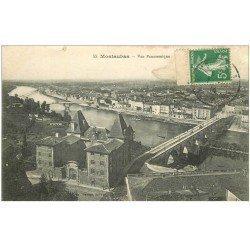 carte postale ancienne 82 MONTAUBAN. Vue Panoramique 1914