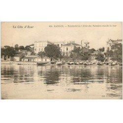 carte postale ancienne 83 BANDOL. Allée des Palmiers