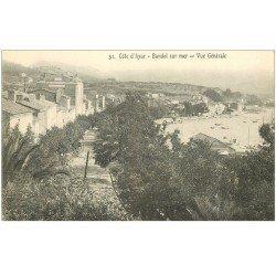 carte postale ancienne 83 BANDOL. Vue générale