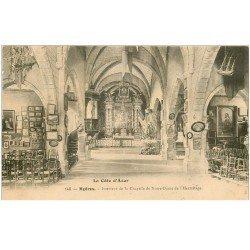 carte postale ancienne 83 HYERES. Chapelle Notre-Dame de l'Hermitage 1906