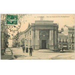 carte postale ancienne 83 SAINT-RAPHAEL. Hôtel des Postes et Télégraphes Rue Gounod vers 1918. Boulangerie Confiserie