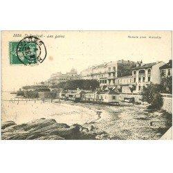 carte postale ancienne 83 SAINT-RAPHAEL. Les Bains 1908
