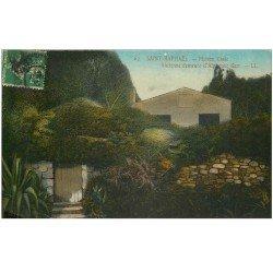carte postale ancienne 83 SAINT-RAPHAEL. Maison Close ancienne demeure Aphonse Karr