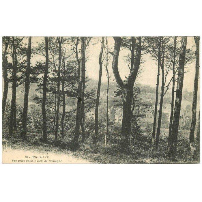 14 HOULGATE Bois de Boulogne 1912 ~ Manoir Bois De Boulogne