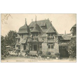 carte postale ancienne 14 HOULGATE. Châlet Daubenton 1905