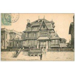 carte postale ancienne 14 HOULGATE. Châlet Menier 1906