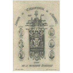 carte postale ancienne 86 CHATELLERAULT. Cinquantenaire de Harmonie 1859 1909 offert par la photographie Arambourou