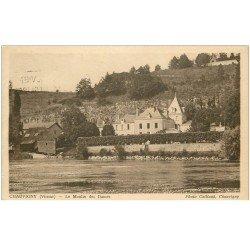 carte postale ancienne 86 CHAUVIGNY. Le Moulin des Dames 1935