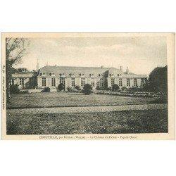 carte postale ancienne 86 CROUTELLE. Château du Palais
