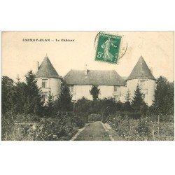 carte postale ancienne 86 JAUNAY CLAN. Le Château 1913