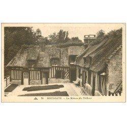 carte postale ancienne 14 HOULGATE. Maison du Pêcheur 1939