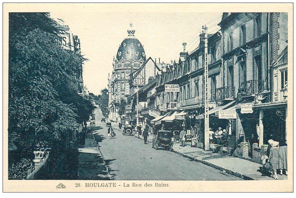 14 houlgate rue des bains restaurant duval for Rue des bains