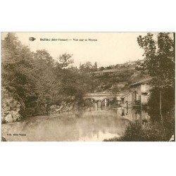 carte postale ancienne 87 BELLAC. Vue sur le Vincou