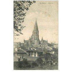 carte postale ancienne 87 LE DORAT. Clocher du Village 1930