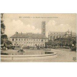 carte postale ancienne 87 LIMOGES. Musée régional