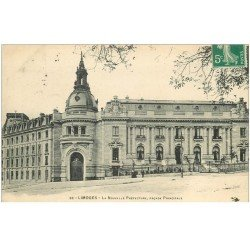 carte postale ancienne 87 LIMOGES. Nouvelle préfecture 1910