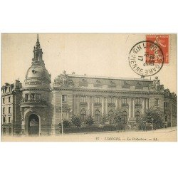 carte postale ancienne 87 LIMOGES. Nouvelle préfecture 1917