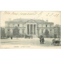carte postale ancienne 87 LIMOGES. Palais de Justice 1903
