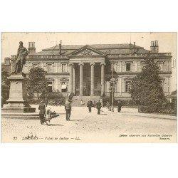 carte postale ancienne 87 LIMOGES. Palais de Justice 1918