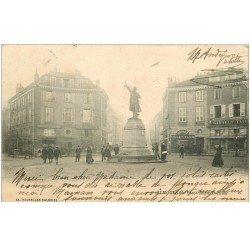 carte postale ancienne 87 LIMOGES. Place Denis Dussoubs 1902