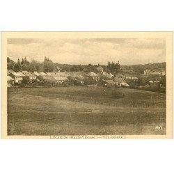 carte postale ancienne 87 LINARDS. Le Village