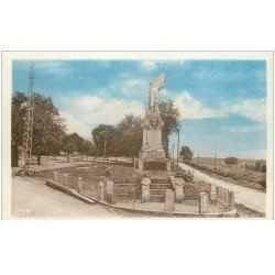 carte postale ancienne 87 LINARDS. Monument aux Morts. Texte attendrissant...