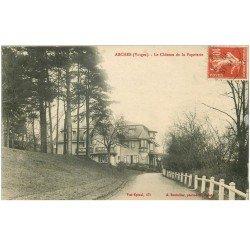carte postale ancienne 88 ARCHES. Château de la Papeterie 1912
