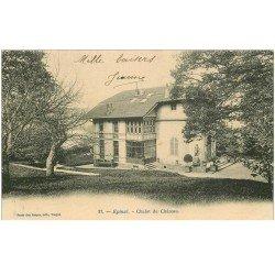 carte postale ancienne 88 EPINAL. Chalet du Château 1904