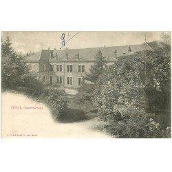 carte postale ancienne 88 EPINAL. Ecole Normale vers 1900