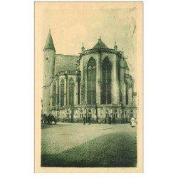 carte postale ancienne 88 EPINAL. Eglise Saint Maurice 1931