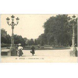 carte postale ancienne 88 EPINAL. Entrée du Cours 1914
