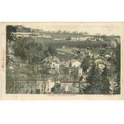 carte postale ancienne 88 EPINAL. La Côte de la Justice 1918