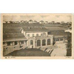 carte postale ancienne 88 EPINAL. La Gare 1939