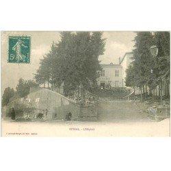 carte postale ancienne 88 EPINAL. l'Hôpital vers 1900. Timbrée mais verso vierge