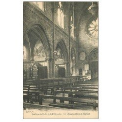 carte postale ancienne 14 LA DELIVRANDE. Basilique les Chapelles