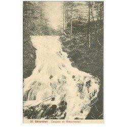 carte postale ancienne 88 GERARDMER. Cascade de Retournemer